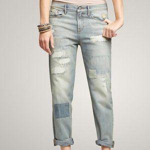 Gap Sexy Boyfriend Patchwork Jeans